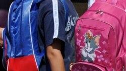 Crnogorski školarci: Savijanje pod teretom knjiga