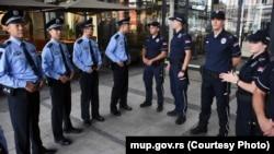 Kineski i srpski policajci u Beogradu, 18. septembar