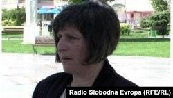 Моника Велеска, претседател на Независниот синдикат на земјоделци на Македонија.