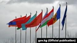 Флаги государств-членов ОДКБ
