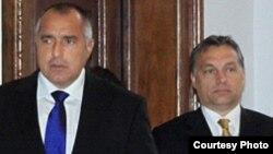 Premierii Boiko Borisov și Viktor Orban
