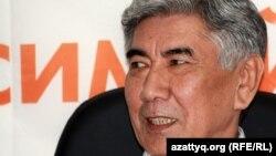 Жармахан Тұяқбай, ЖСДП төрағасы. Алматы, 11 сәуір 2012 жыл.