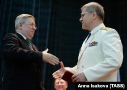 Александр Торшин и Генеральный прокурор РФ Юрий Чайка