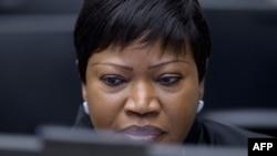 Prokurorja e Gjykatës së Hagës për Krime Lufte, Fatou Bensouda.