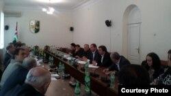 В первом чтении были приняты законопроекты «О внесении изменений в некоторые законодательные акты Республики Абхазия» и «О предотвращении легализации (отмывания) преступных доходов и финансирования терроризма»
