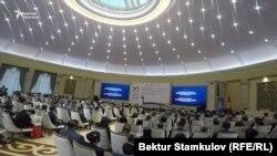 Бишкектеги адам укуктары боюнча жыйын. 10-декабрь, 2018-жыл.