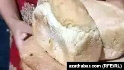 Хлеб - буханка из госмагазина, Лебапский велаят