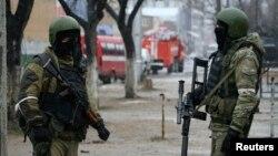 Pjesëtarë të Forcave Speciale ruse në Dagestan. Foto nga arkivi