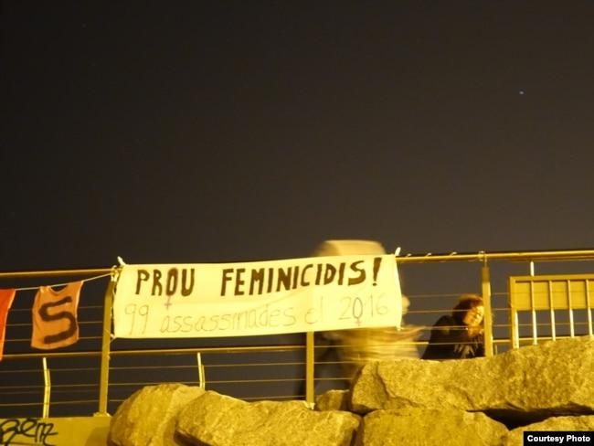 Кампания против фемицида. Фото автора
