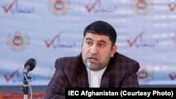 عصمتالله مل معاون کمیسیون مستقل انتخابات افغانستان