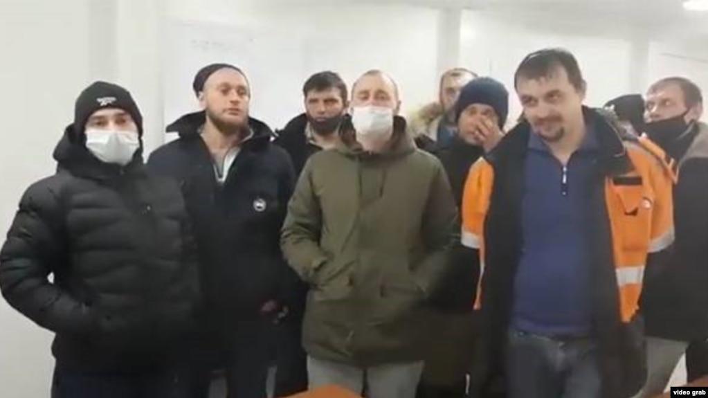 Забастовка рабочих на месторождении в Якутии