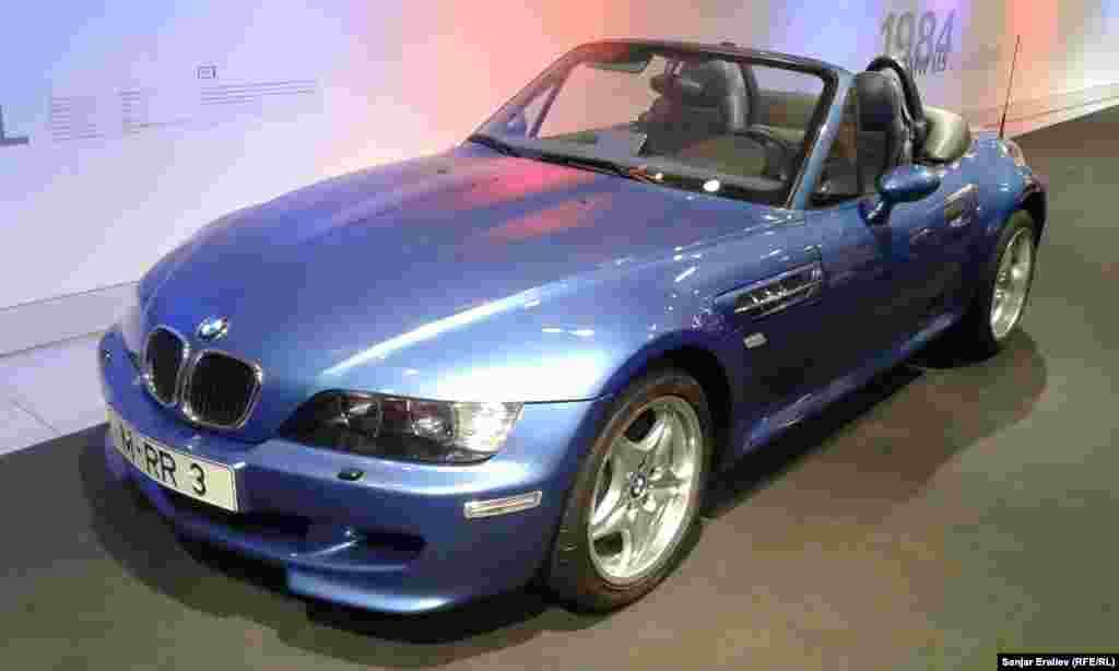 Одна з останніх моделей BMW