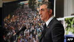 Reza Pahlavi said he supports a 'true democracy' for Iran.