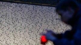 Голодомор құрбандарын еске алу. Киев, 23 қараша 2013 жыл.