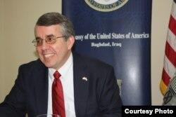 المتحدث باسم السفارة الاميركية ببغداد