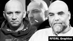 Погибшие журналисты Орхан Джемаль, Александр Расторгуев и Кирилл Радченко