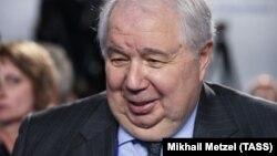 Колишній посол Росії у США Сергій Кисляк, під час роботи якого у Вашингтоні відбувалися перекази значних сум