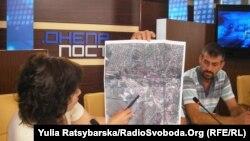 Громадські активісти показують рівень забруднення шкідливими речовинами у Дніпропетровську