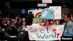 Церемония открытия конференции ООН по климату в Бонне, 6 ноября 2017