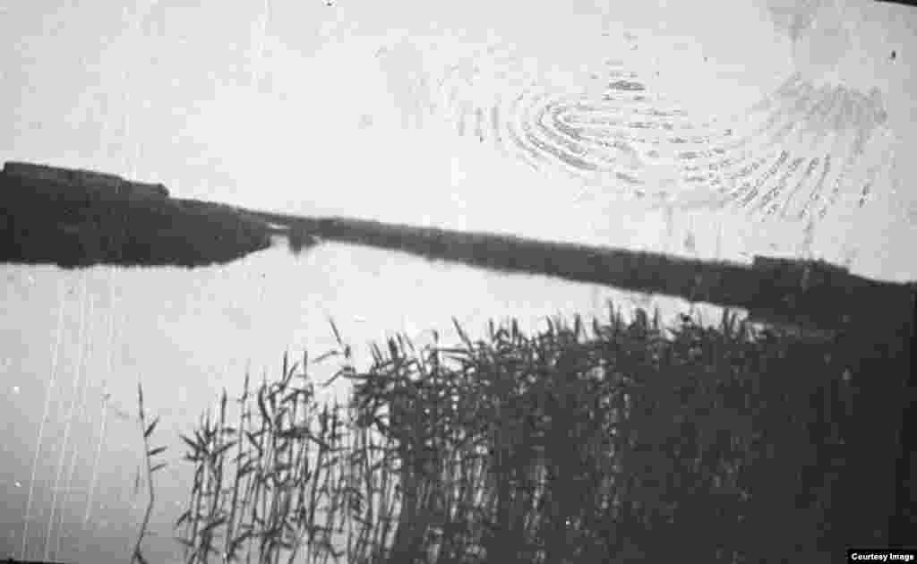 Река Тургай у аула Тонабай, берега которой служили прикрытием для отряда Амангельды Иманова от обстрела карательного отряда.