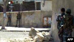 تصاویری که شبکه دولتی سوریه روز چهارشنبه آن را پخش کرد.