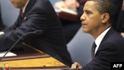 Barack Obama became the first U.S. president to chair a UN Security Council meeting.