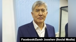 Алмазбек Атамбаев в суде. Ноябрь 2019 года.