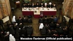 Объединительный собор в киевской Святой Софии