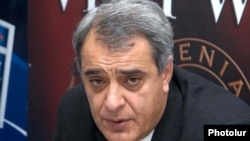 Armenia - Davit Shahnazarian, a prominent opposition politician.