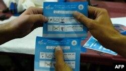 Kontrolli i fletëvotimeve të zgjedhjeve presidenciale afgane gjatë auditimit
