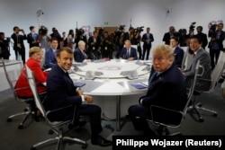 Lideri G7 na početku samita