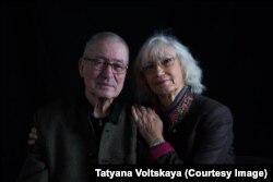 Переводчик, публицист Никита Кривошеин и художник, литератор Ксения Кривошеина