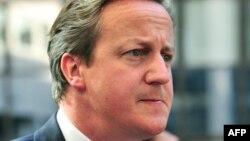 Böyük Britaniyanın baş naziri David Cameron