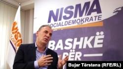 Kryetari i partisë Nisma Socialdemokrate, Fatmir Limaj