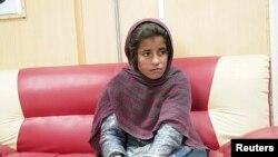 Девојчето кое требало да изврши самоубиствен напад. Хелманд, 06.01.2014