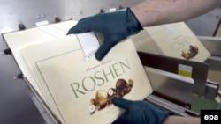 Roshen компаниясының өнімі. (Көрнекі сурет.)