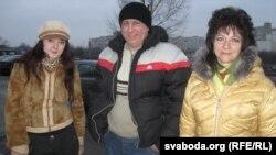 Аляксандра Васілевіч, Ежы Грыгенча й Ірына Давідовіч