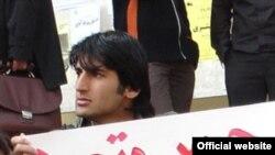 مهدی گرایلو، از دانشجویان چپگرا که گفته می شود مورد تهدید قرار گرفته است.