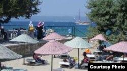 Отель в Турции, предлагающий услуги для туристов-мусульман, архивное фото.