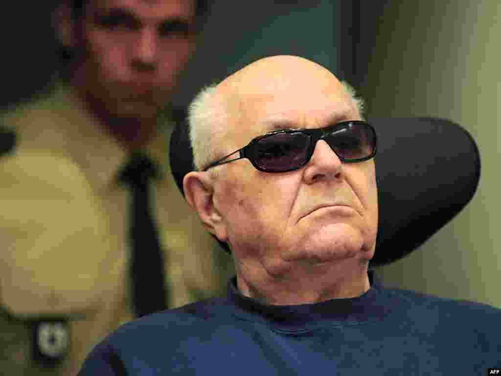 یکی از جلسات دادگاه آقای دمیانیوک در ۲۰ آوریل ۲۰۱۰