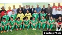 المنتخب الاولمبي العراقي (من الارشيف)