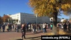 Мітынг супраць пабудовы акумулятарнага заводу «АйПаўэр», архіўнае фота
