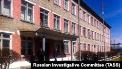 Barabinskdə insident baş vermiş məktəb