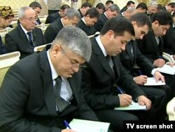 Заседание правительства с участием руководителей национальных сми