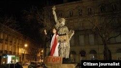 На адной з папярэдніх акцый «Свабодная Беларусь».