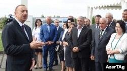 Kürdəmirdə Mollakənd-Axtaçı-Öyləqulu avtomobil yolu istifadəyə verilib - 17 sentyabr 2015.