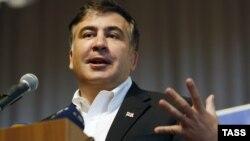 Михаил Саакашвили Киевде студенттер менен жолугушууда. 26-февраль, 2014-жыл