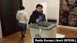 Valentina Ursu la ambasada Moldovei din Praga