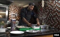 Американський кухар Крис Вільямс