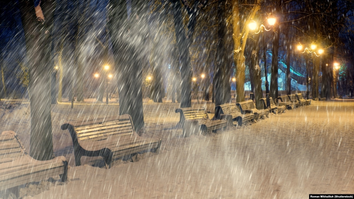 «Укргідрометцентр»: ВУкраїні очікуються сильні снігопади з18 січня
